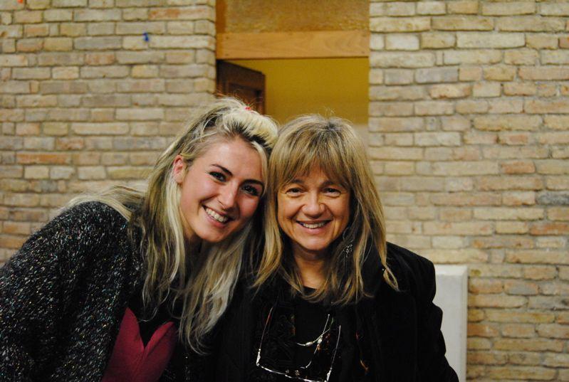Alessandra Calanchi con Eleonora Fiorani (Malamonroe)  (2010)_risultato