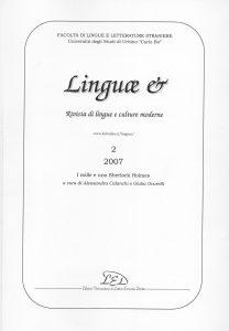Copertina Linguae n 2 del 2007