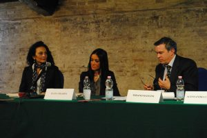 Tiziano Mancini con Serena Frediani ed Elena Mearini (2012)_risultato