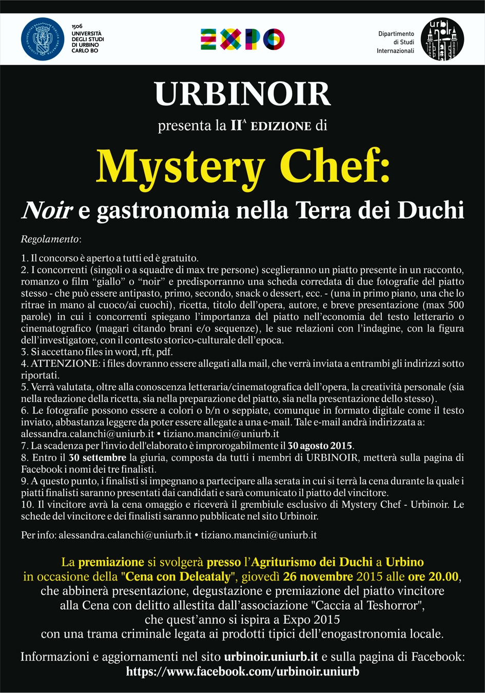 mystery chef 2015